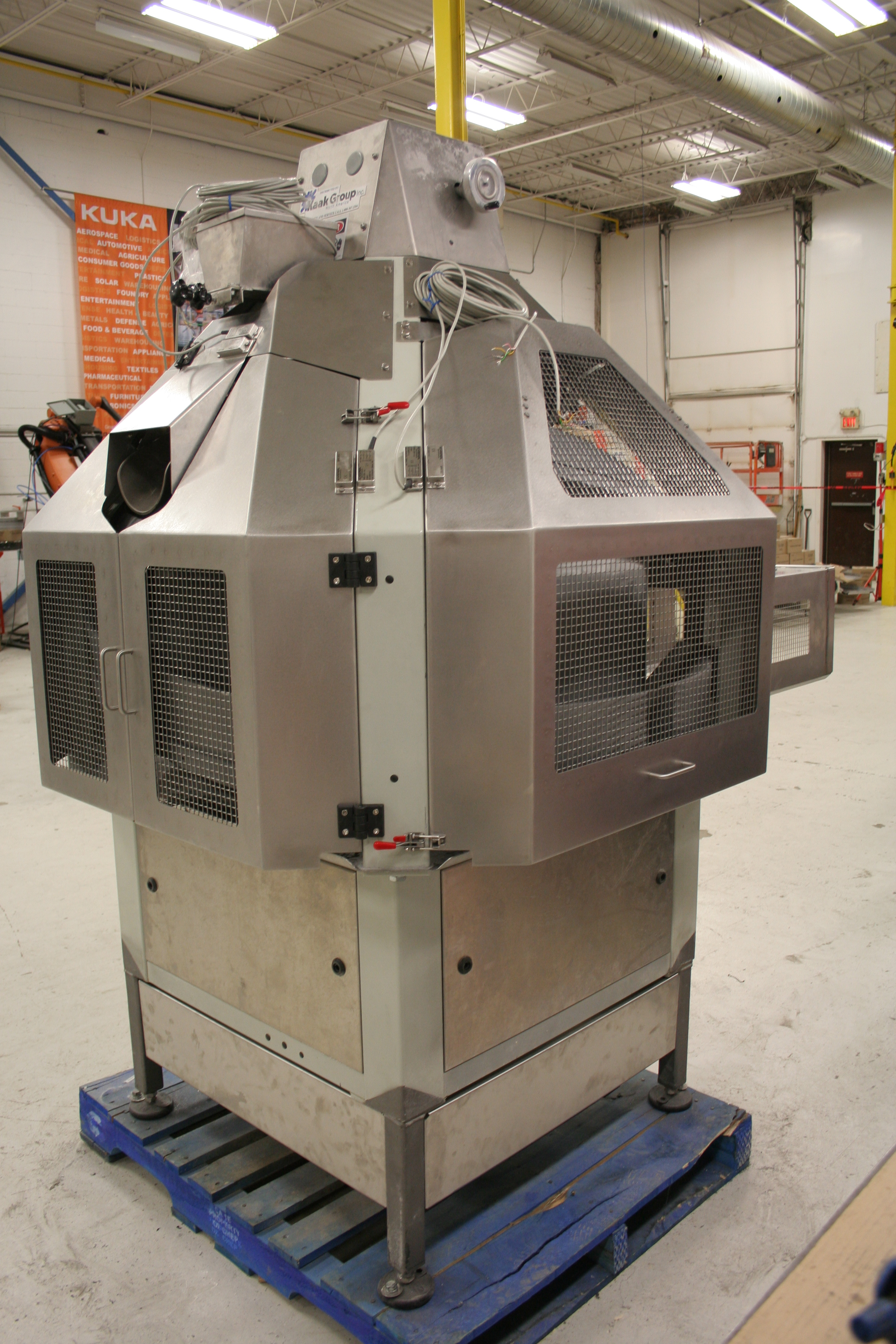 Safety guarding and GMP dust covers