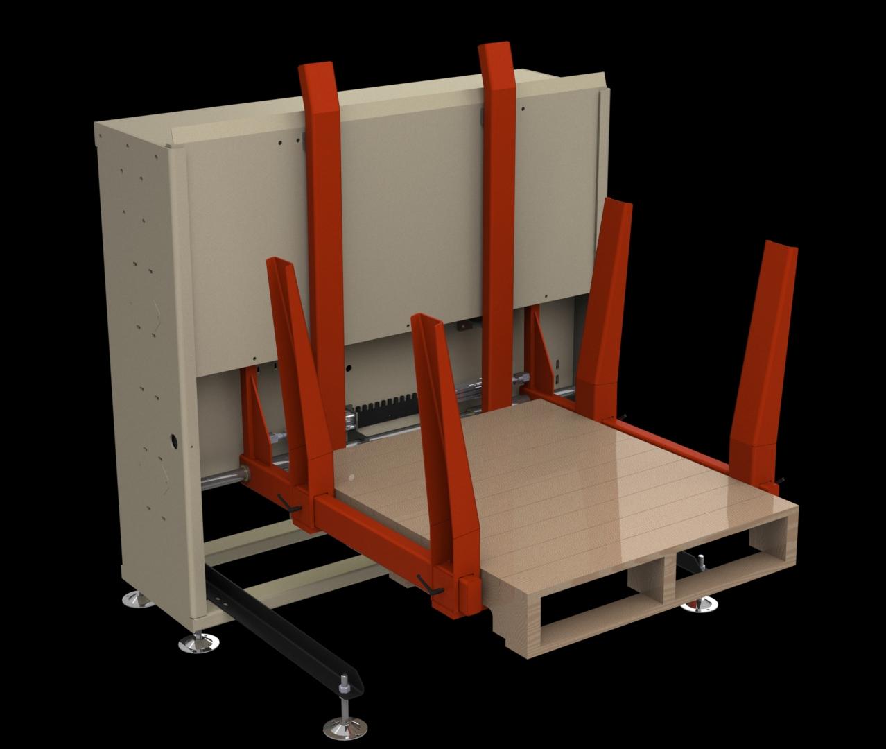 Advantage Pd 4830 Pallet Dispenser Destacker Jantz Canada