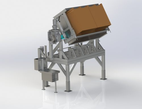 Jantz Canada introduces heavy duty bin tipper for the fresh produce industry
