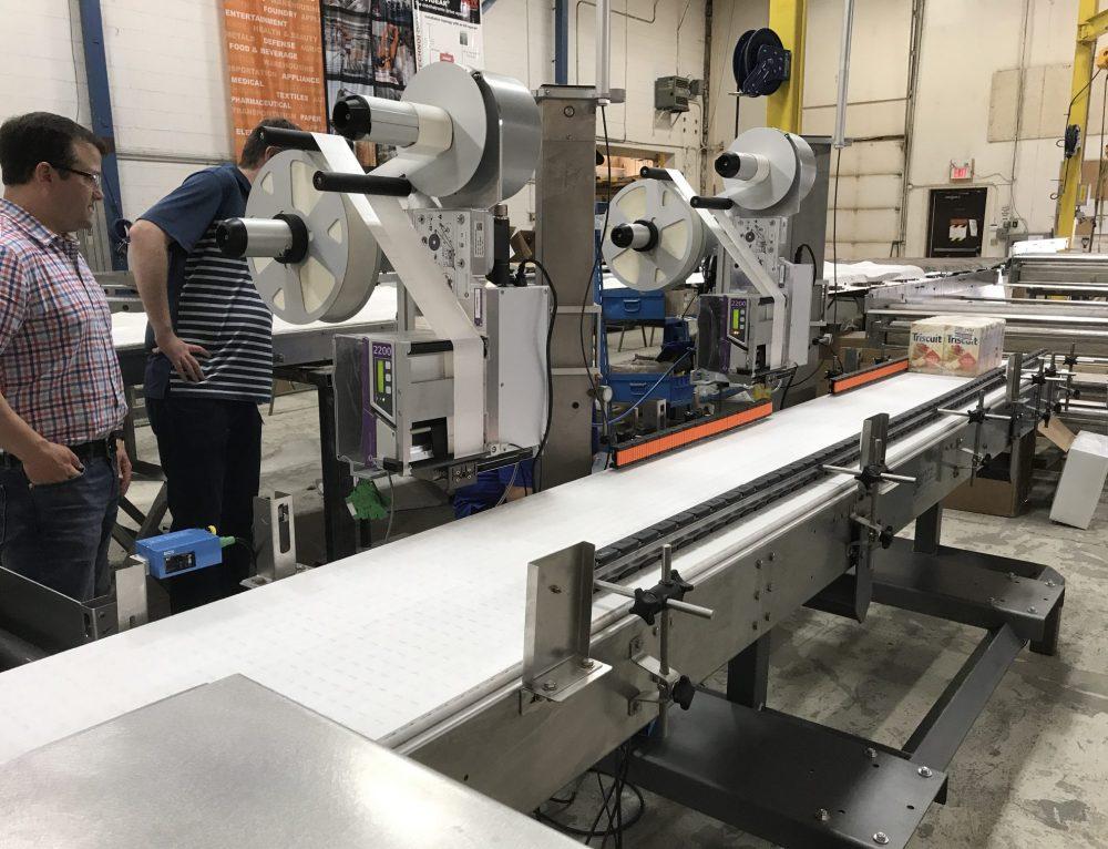 Designing a carton labeling reject conveyor with Markham Imaj