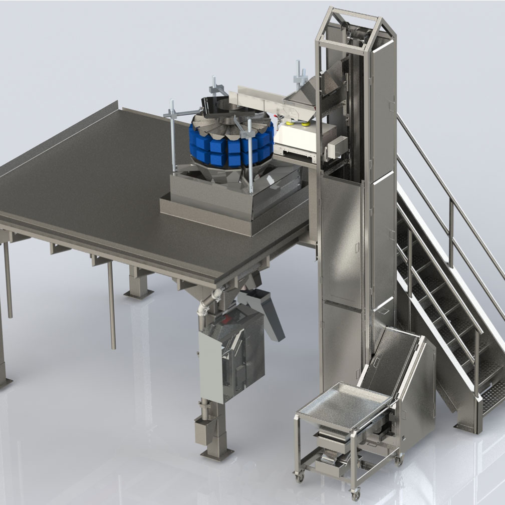Food handling machinery
