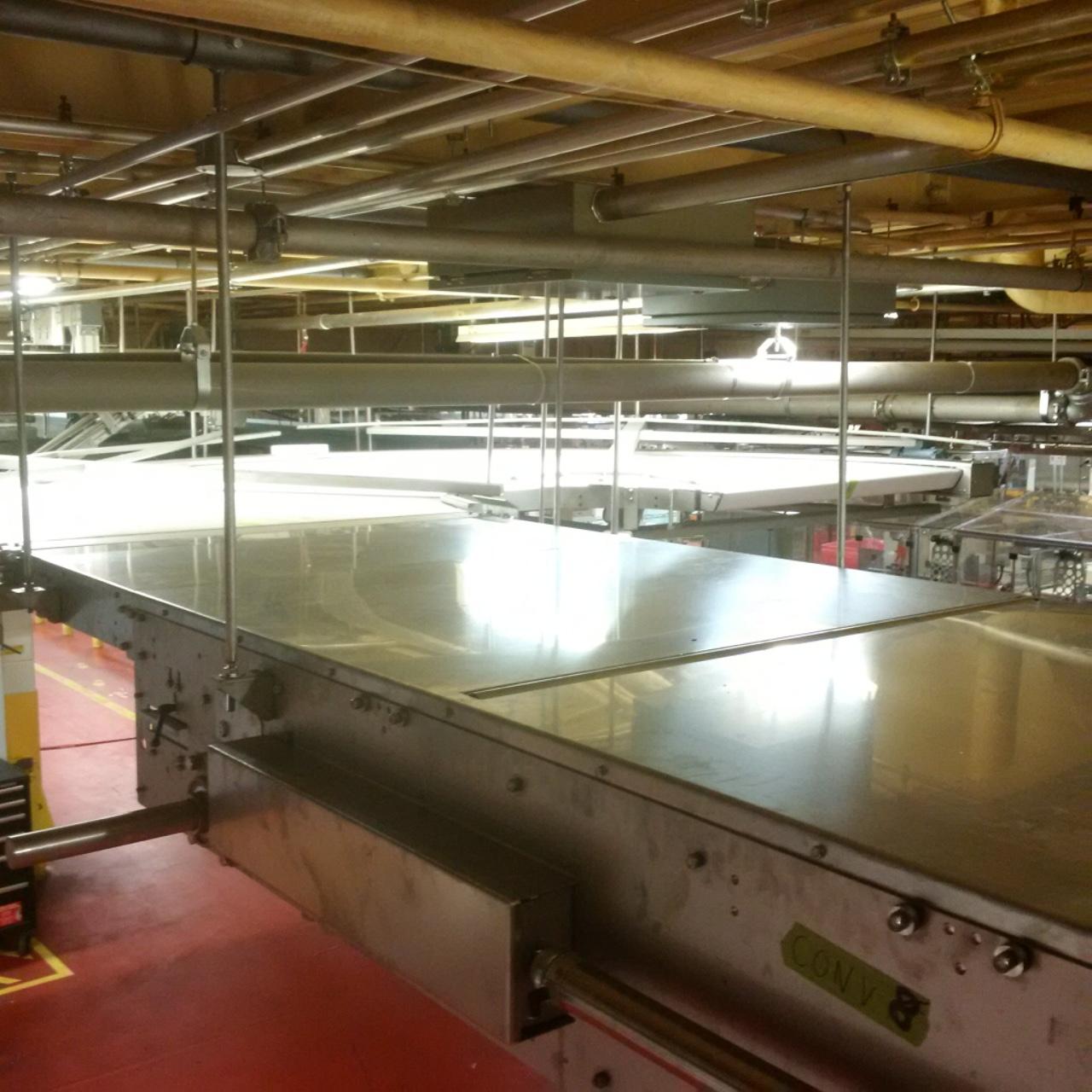 Upgrading Bakery Conveyors at Mondelez
