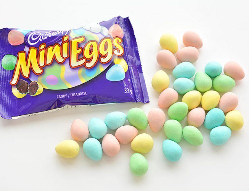 Cadbury Mini Eggs and Jantz Canada