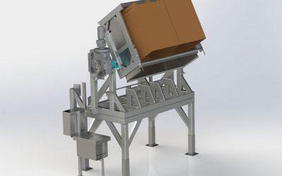 Jantz Canada introduces heavy duty bin tipper for the fresh produce industry
